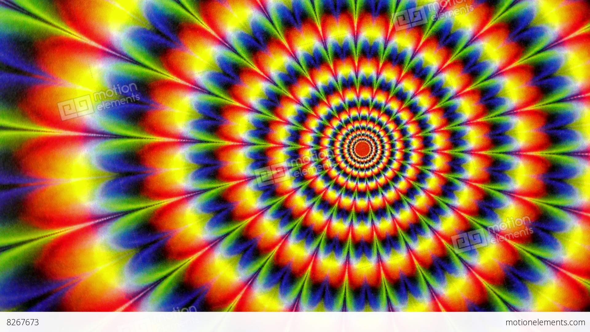 Shiva Animated Wallpaper Hd Hippy Tie Dyed Radial Pattern Animation Background Stock