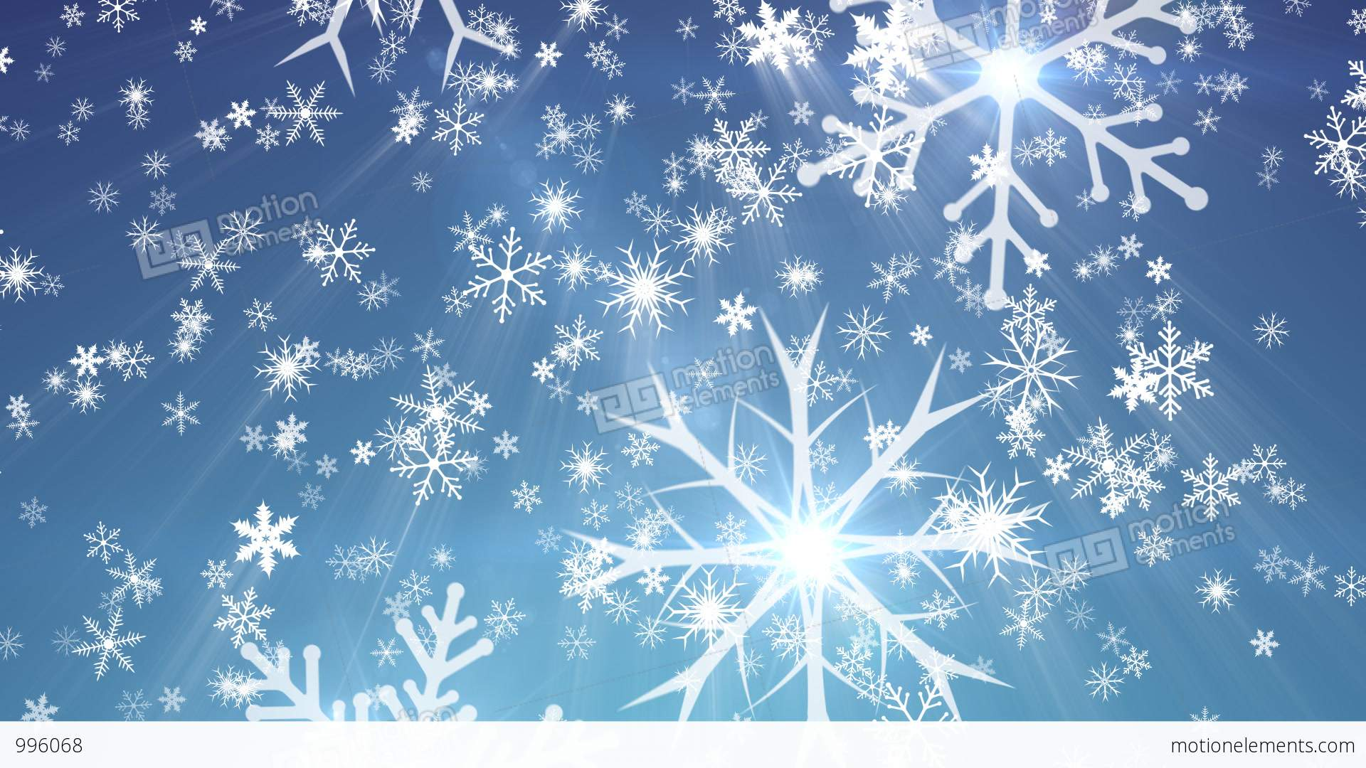 Falling Stars Grunge Wallpaper Snowy 1 Snow Christmas Video Background Loop Stock