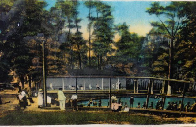 Post card of Wade Spring of unknown provenance and date