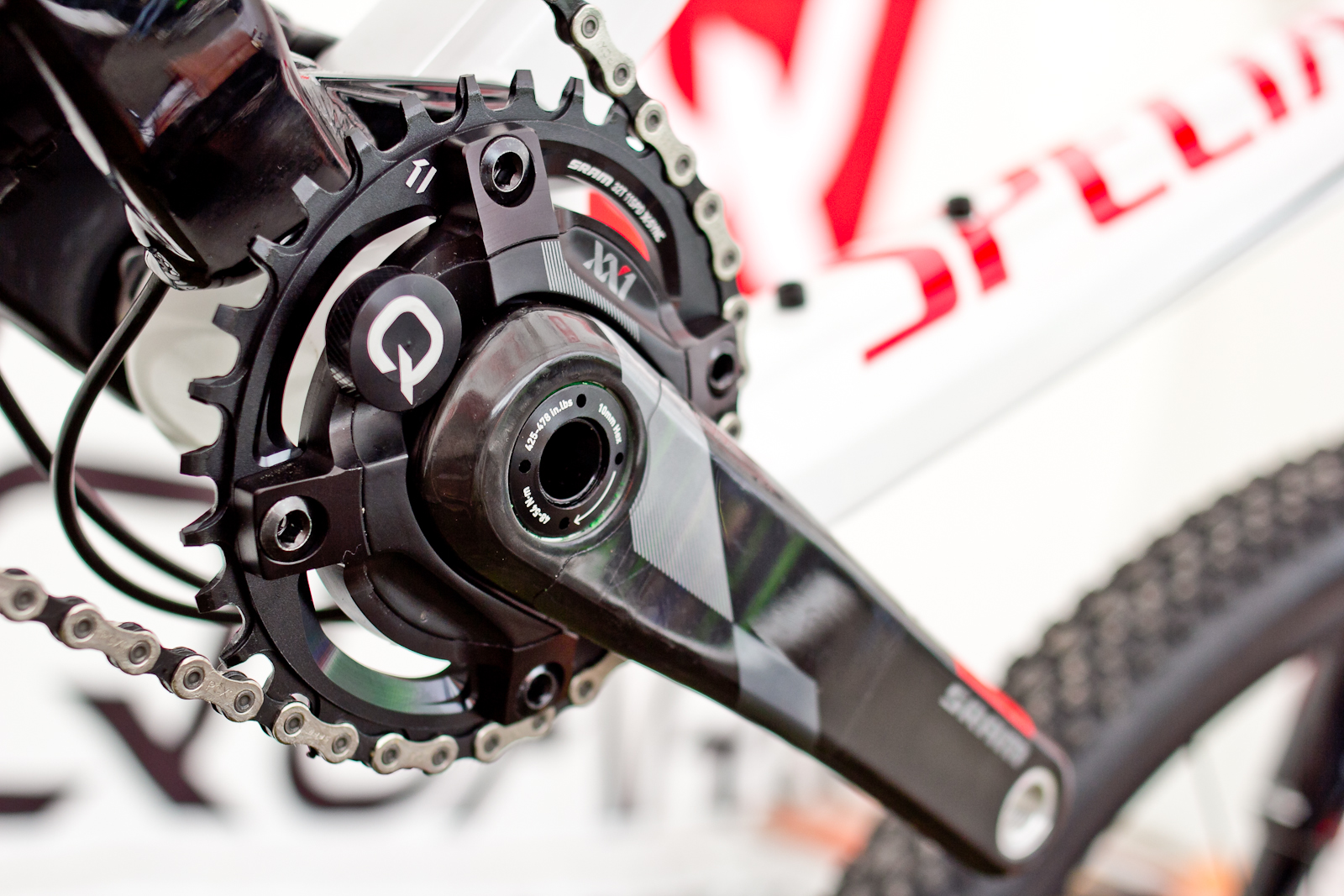 Biking Bikes Sram Xx1 Quarq Power Meter Cranks - 2015 Mountain Bike