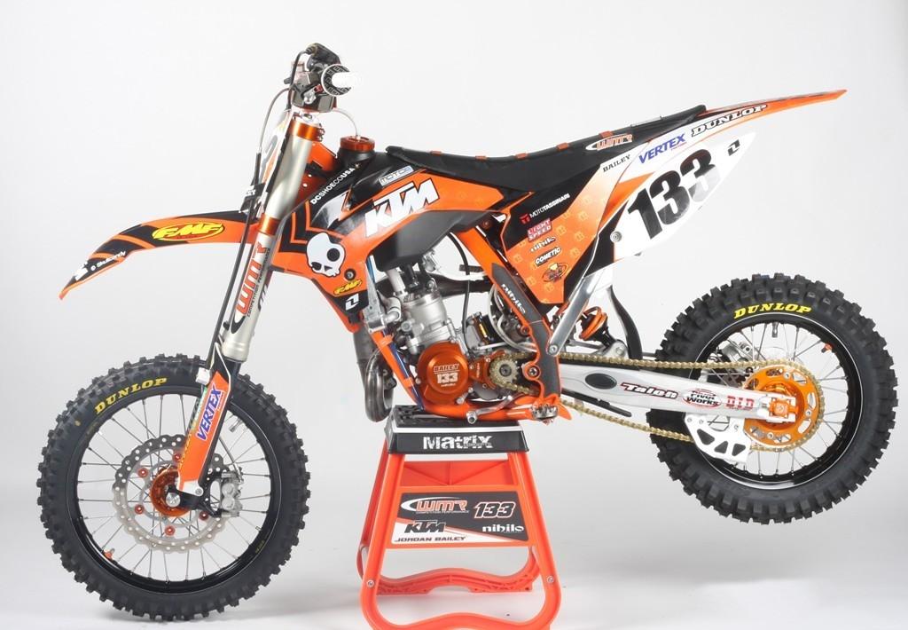 Jordan Bailey39s Orange Brigade Ktm 85 Wmr Nihilo39s Bike