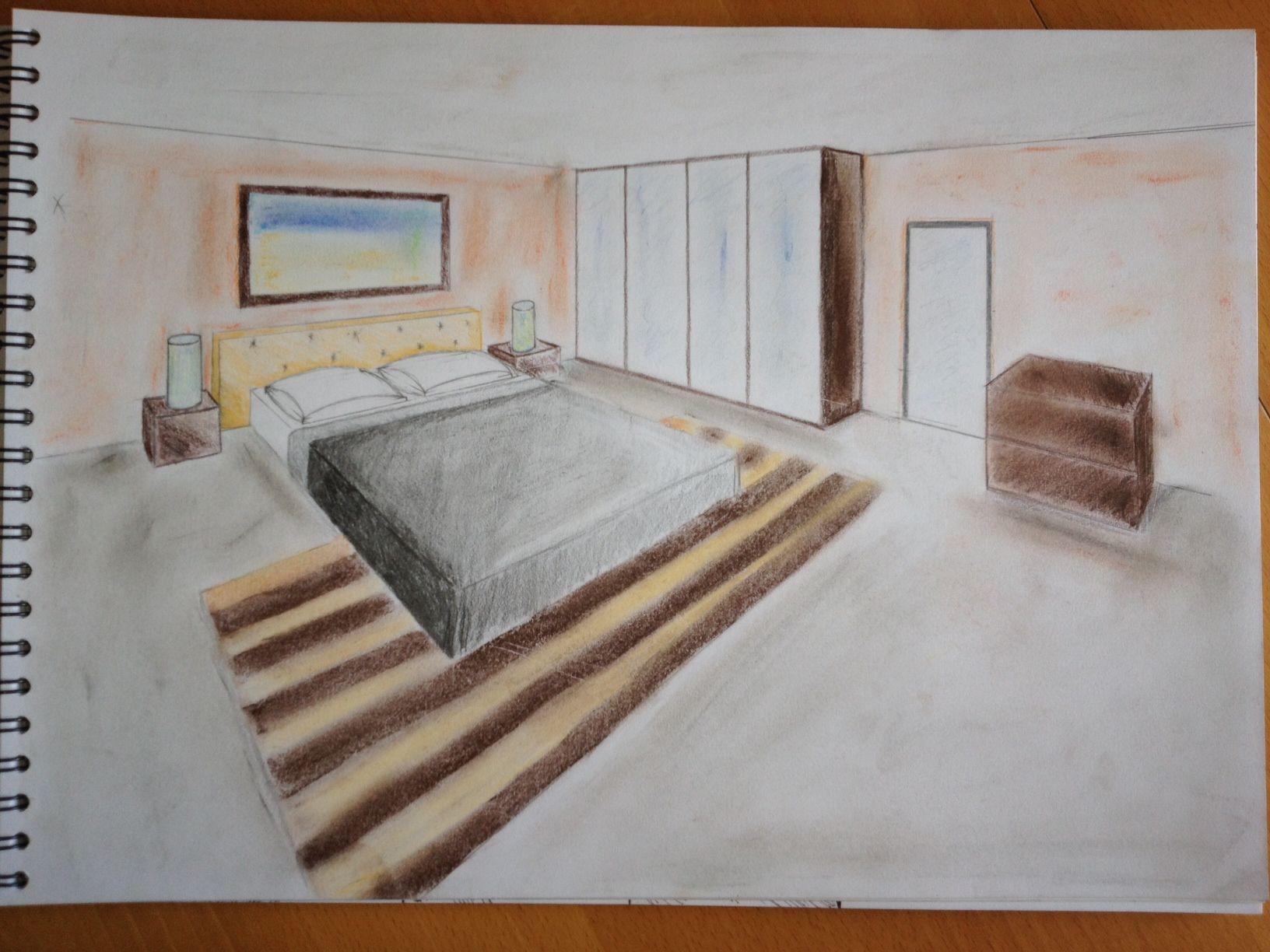 Chambre En 3d Dessin
