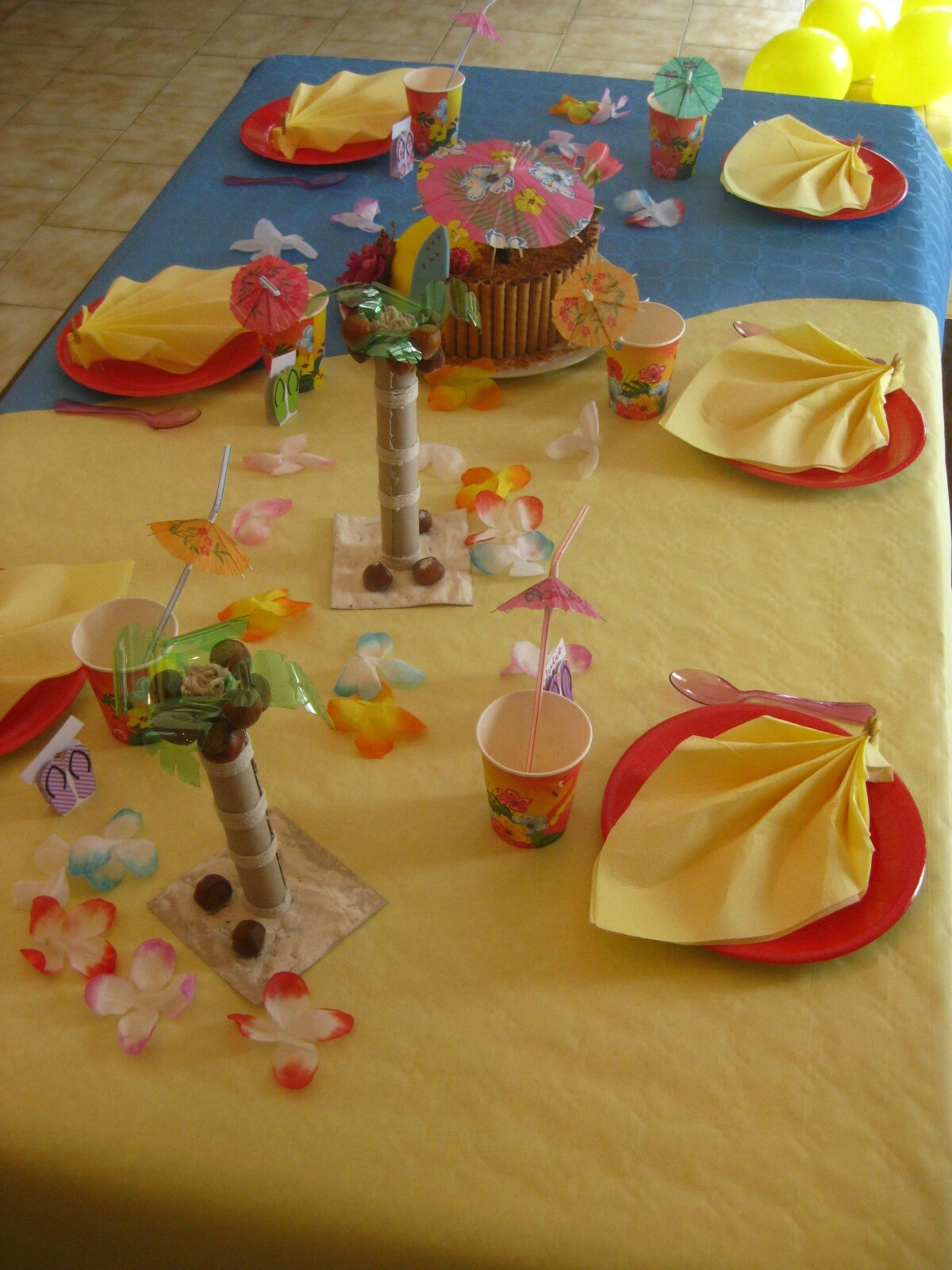 Decoration Anniversaire Hawaii Deco Hawai Anniversaire