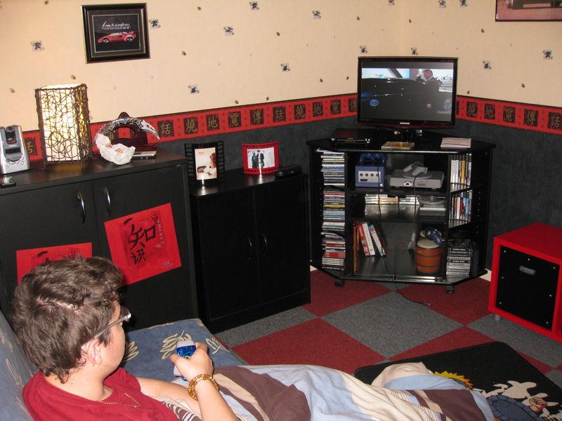 Chambre ado Noir Rouge et - Le Blog d\u0027 Alysone