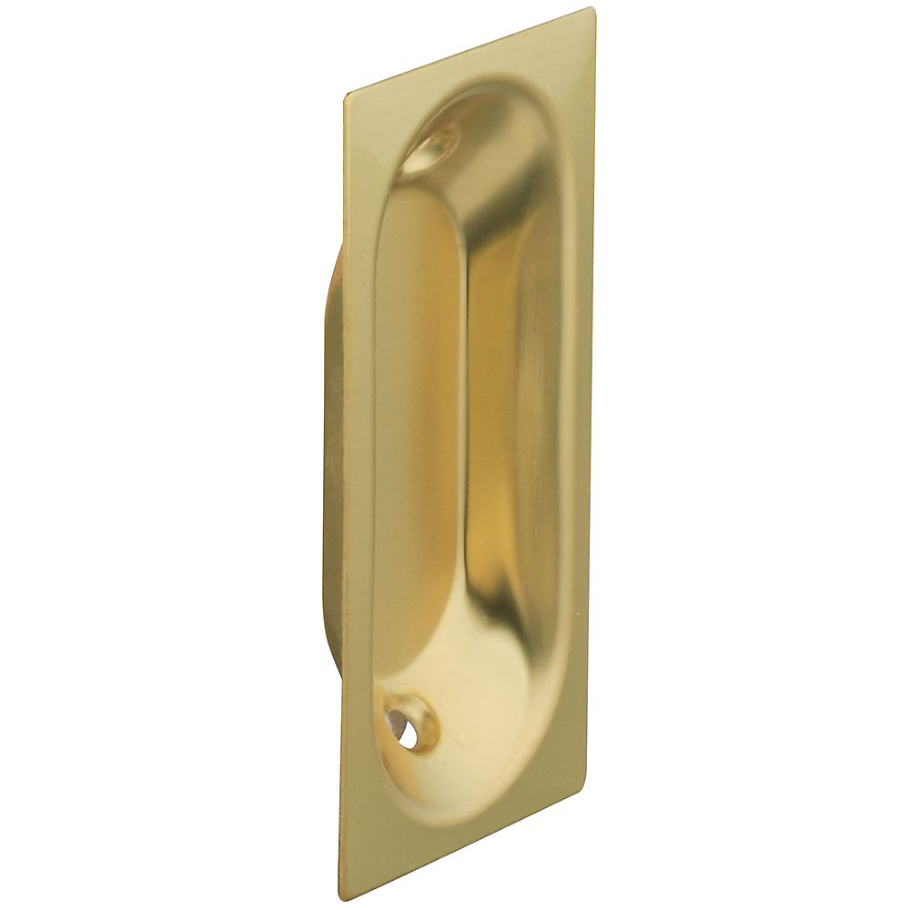 Door Pulls National Hardware S403 516 Stanley Oblong Flush Door Pulls 2 3 4 By 1 5 16 Inch Solid Brass Bright Brass 2 Pack