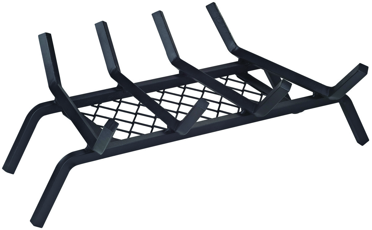 18 Inch Fireplace Grate Homebasix Ltfg W18 Grate Fireplace W Retaner 18in