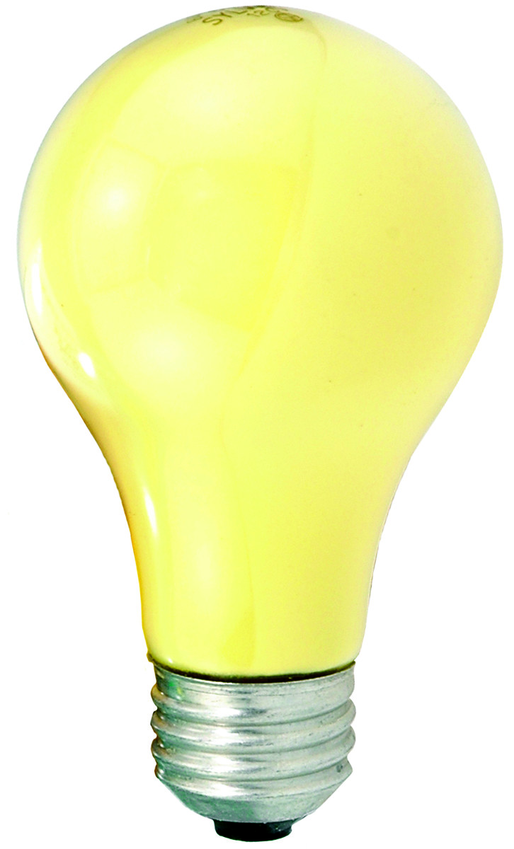 60w Light Bulb Sylvania 10390 60 Watt Bug Light Bulb Yellow 2 Pack
