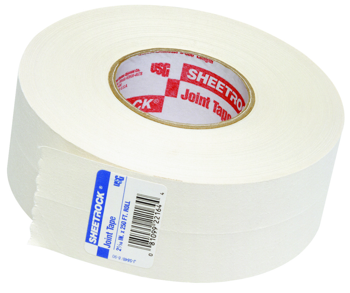 Drywall Paper Tape Us Gypsum 382175020 Sheetrock Paper Drywall Joint Tape 250 Foot