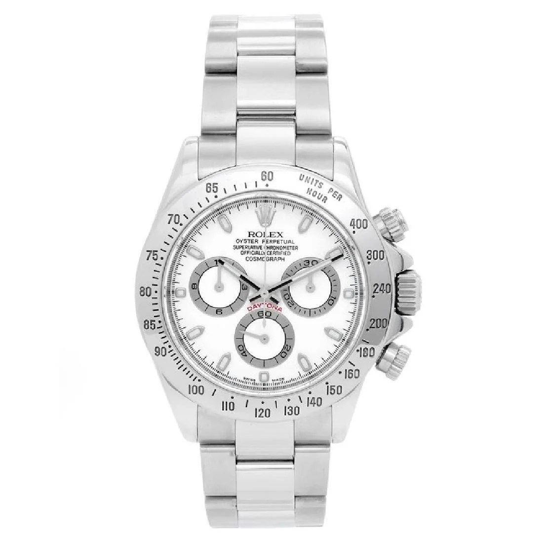 Stainless Rolex Rolex Stainless Steel Daytona Chronograph Automatic On Liveauctioneers