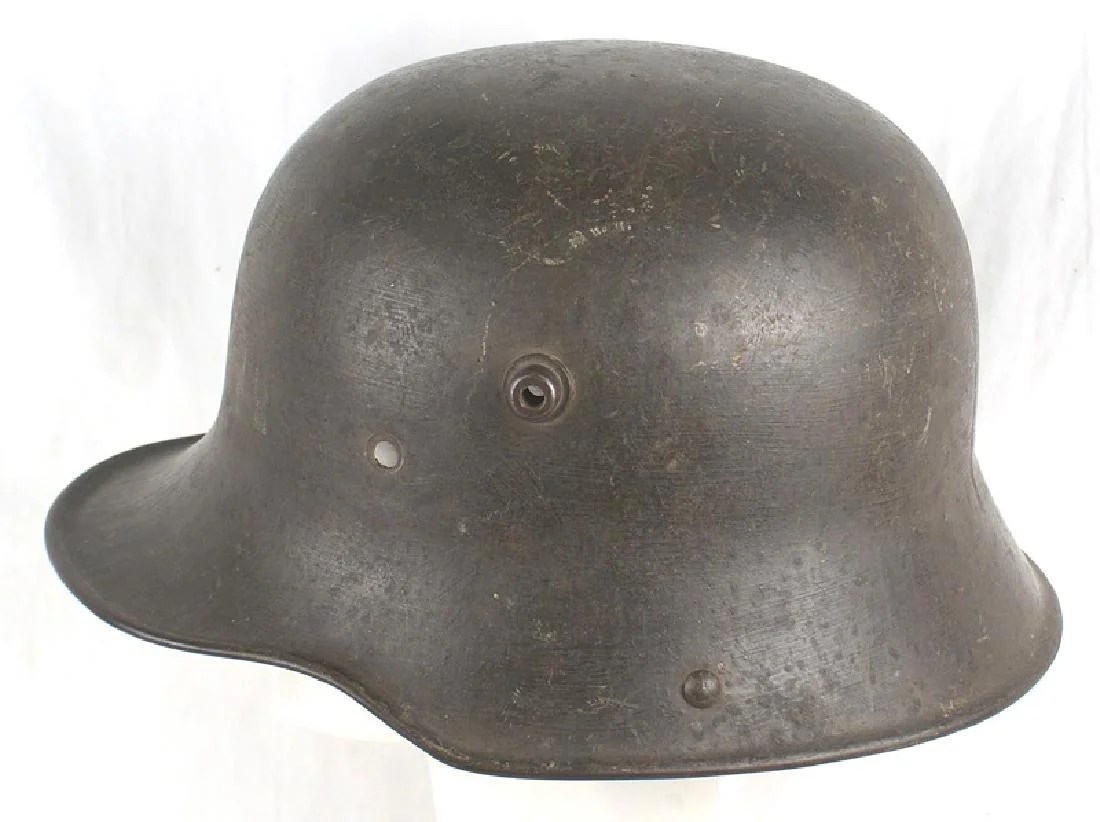 Strahlhelm German M1916 Stahlhelm Helmet Wwi On Liveauctioneers