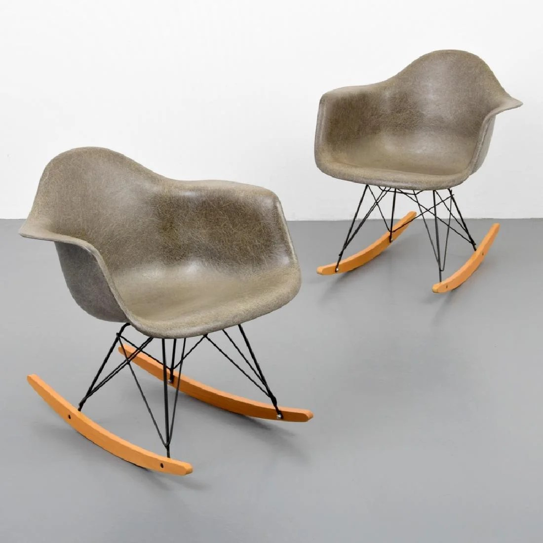 Eames Rar Pair Of Charles Ray Eames