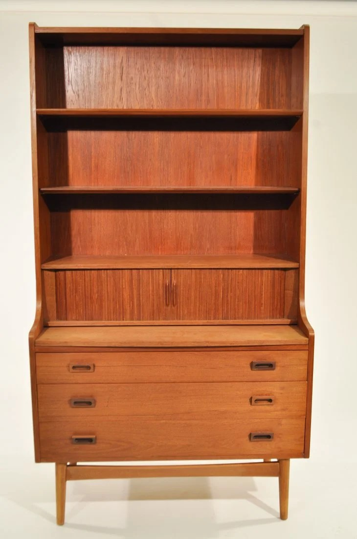 Bookcase Cabinet Bornholm Mobler Danish Bookcase Cabinet On Liveauctioneers