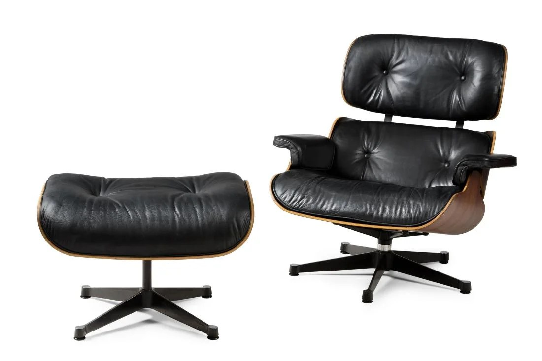 Ottoman Sessel Charles Und Ray Eames Lounge Sessel Mit Ottoman