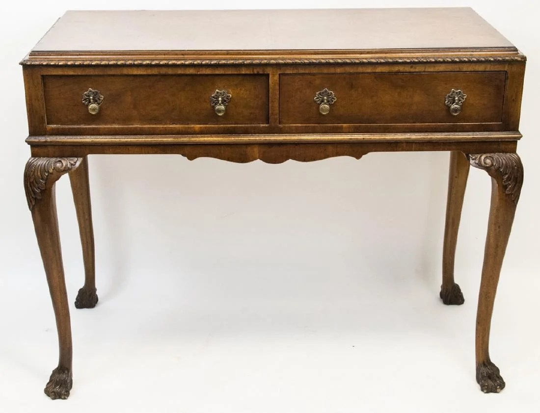 Sofa Queen Anne English Queen Anne Style Console Or Sofa Table On Liveauctioneers