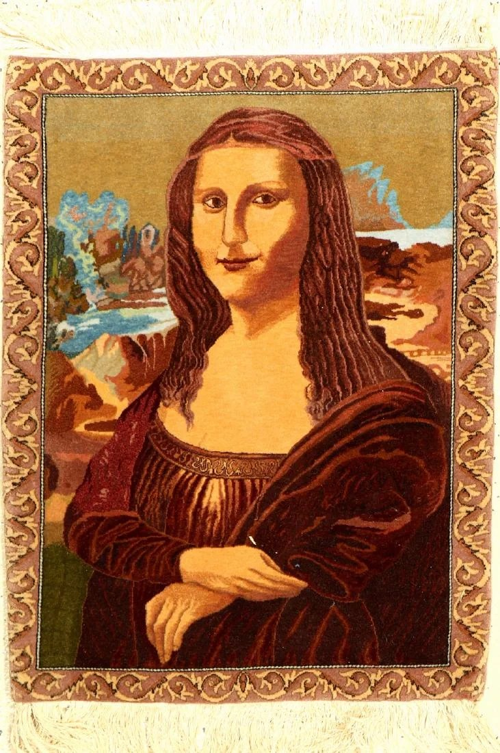 Teppich Mona Lisa Fine Tabriz Rug 50 Raj Quality Mona Lisa On Liveauctioneers