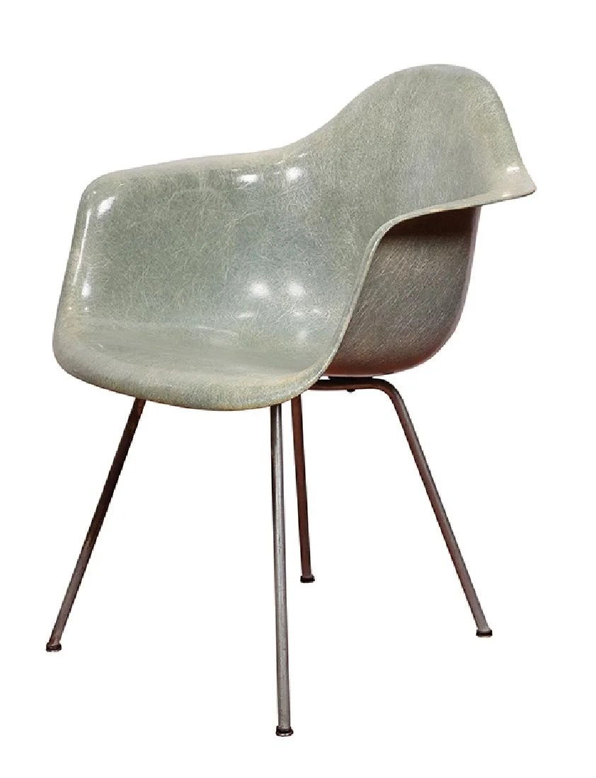 Charles Eames Early Charles Eames Zenith Rope Edge Shell Chair On Liveauctioneers