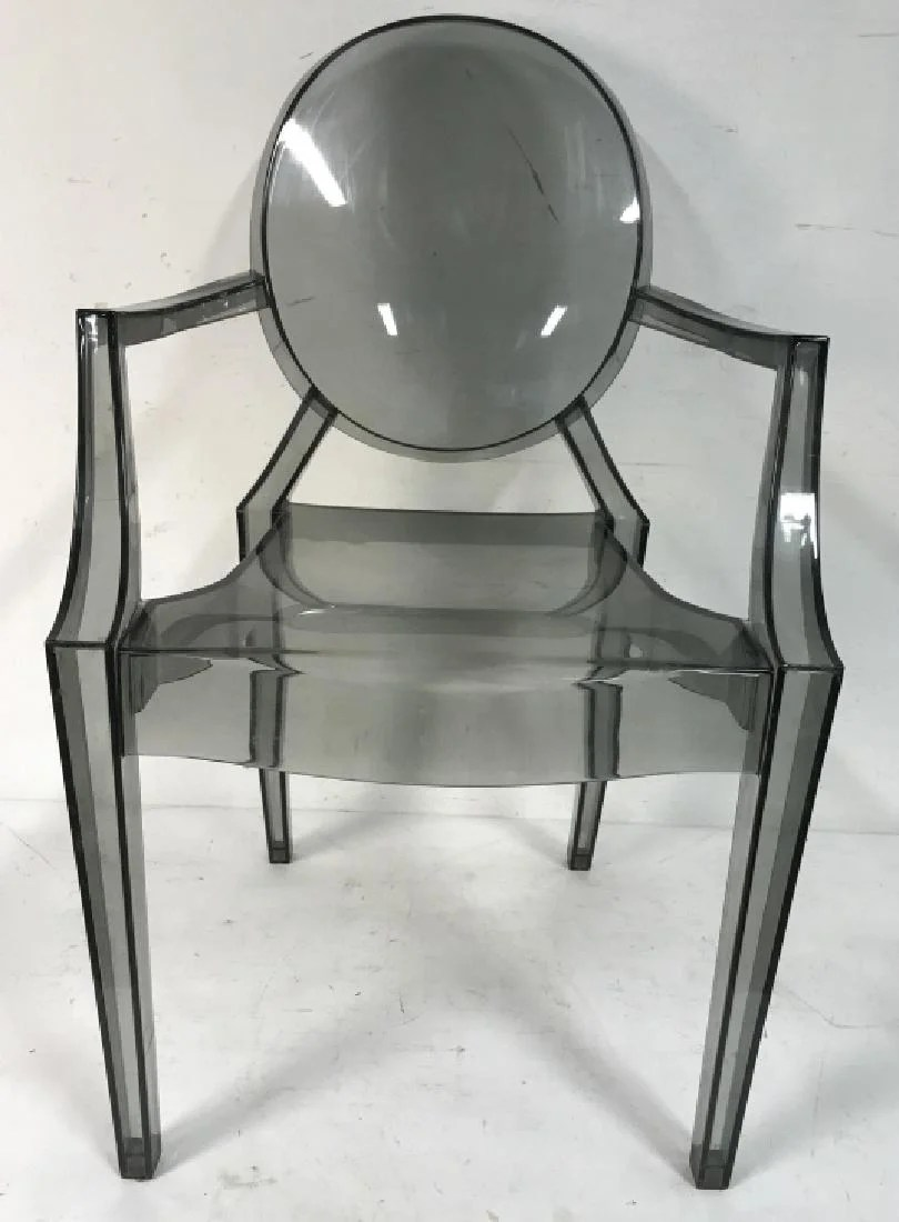 Philippe Starck Ghost Chair Pair Of Philippe Starck Louis Ghost Chairs On Liveauctioneers