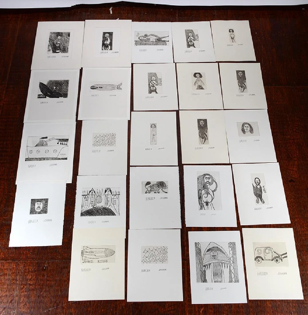 Häuser 24 Johann Hauser 24 Numbered Prints On Liveauctioneers