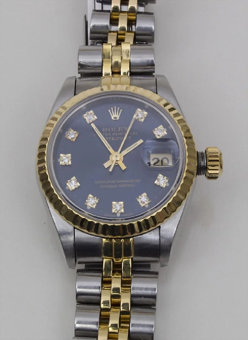 Rolex Damenuhr Rolex Damenuhr A Ladies Watch Oyster Perpetual On Liveauctioneers