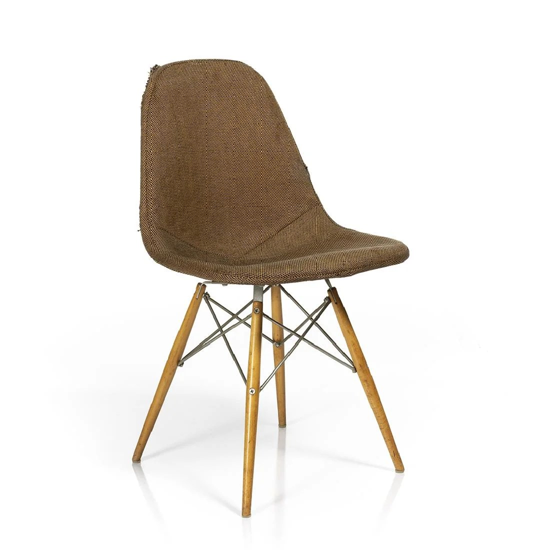 Charles Eames Charles Eames Dowel Leg Chair On Liveauctioneers