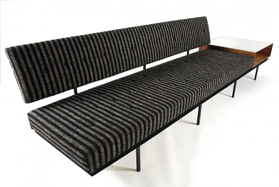 Knoll Sofa Florence Knoll Sofa On Liveauctioneers