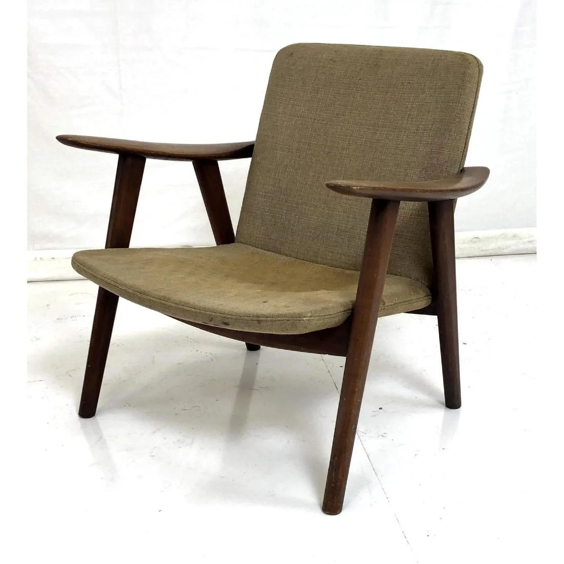Early Hans Wegner Modernist Lounge Chair Danish Apr 02 2019 Uniques Antiques Inc In Pa