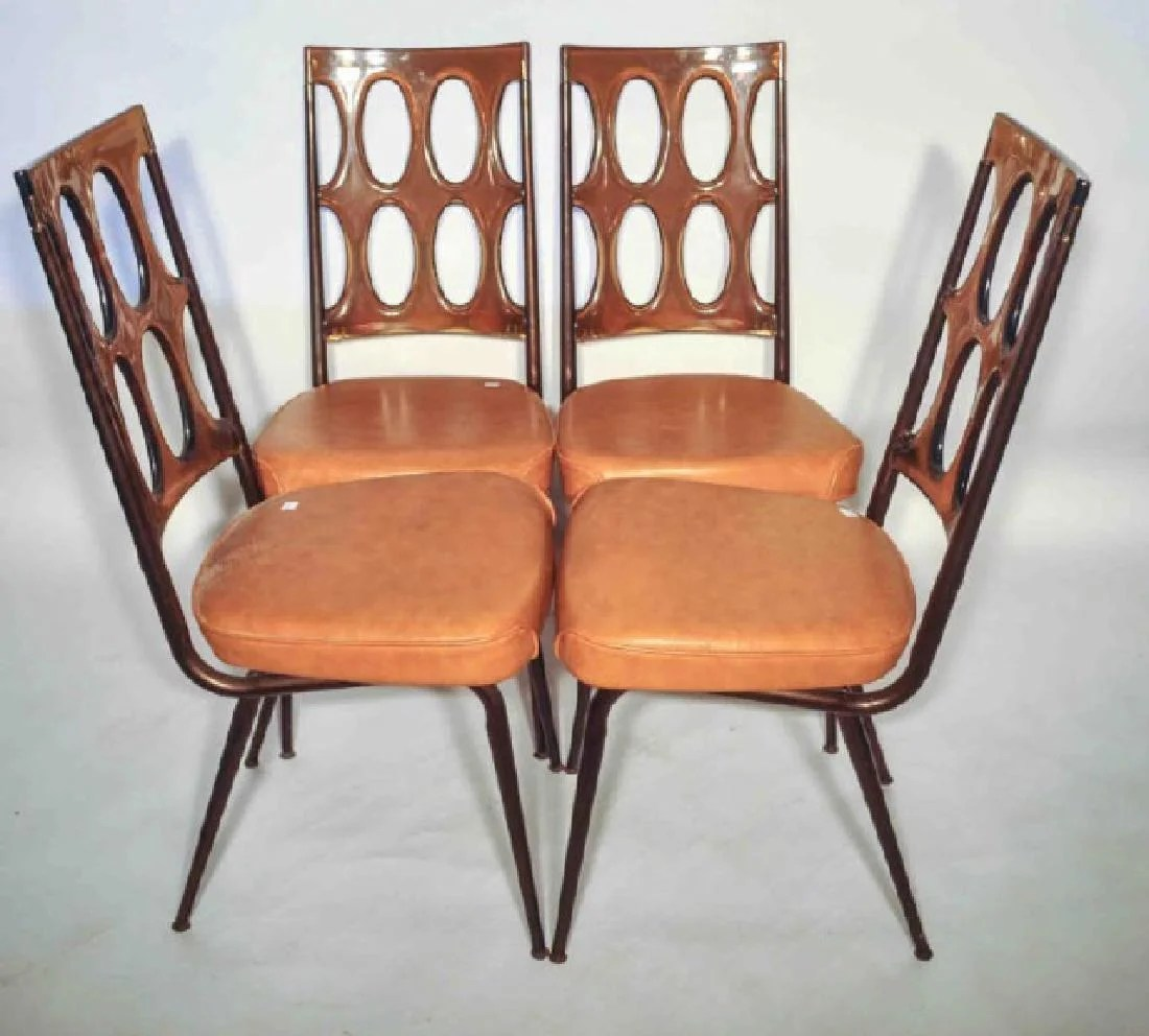 Set Of 4 1960 S Retro Chromcraft Dinette Chairs Oct 14 2017 Terri Peters Associates Auction And Estate Marketing In Ny