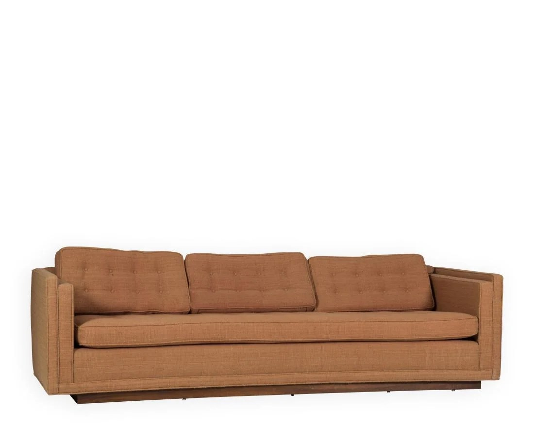 Curved Sofa Harvey Probber Curved Sofa On Liveauctioneers