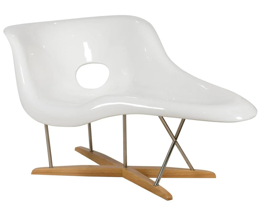 La Chaise Lounge Chair Eames Style La Chaise Lounge Chair On Liveauctioneers