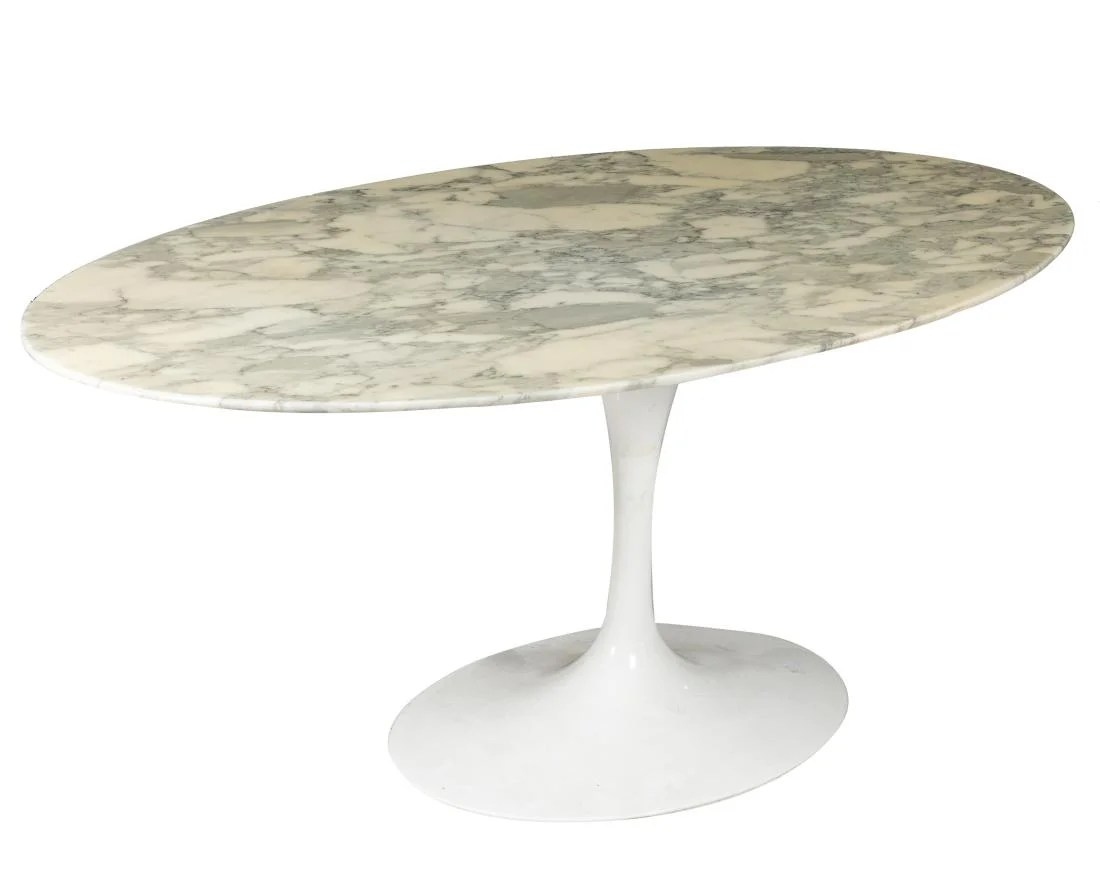 Saarinen Knoll Table Eero Saarinen Knoll Tulip Dining Table On Liveauctioneers
