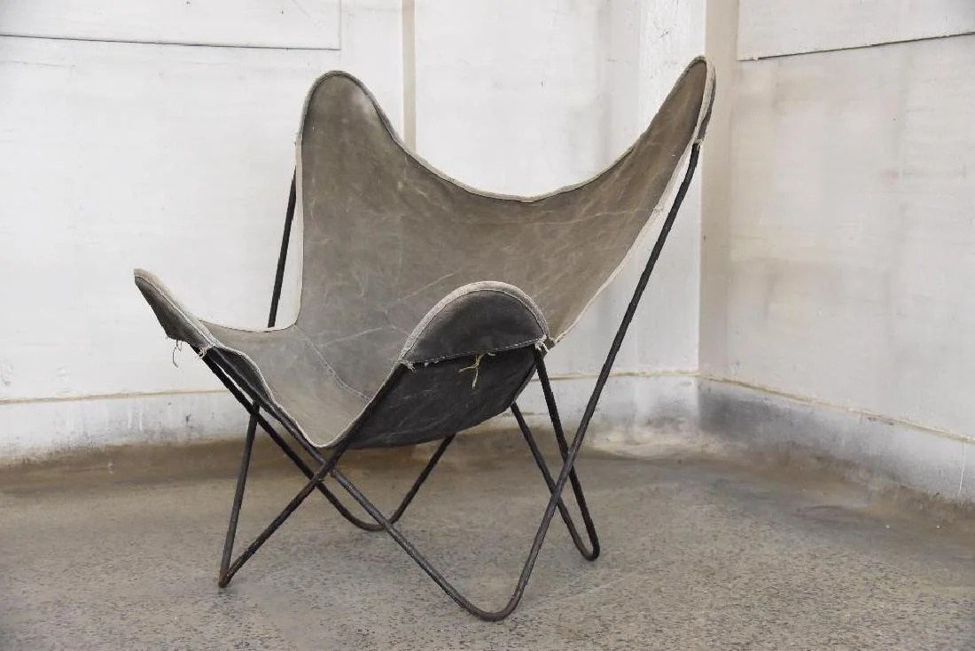 Butterfly Chair Knoll Knoll Hardoy Butterfly Chair On Liveauctioneers