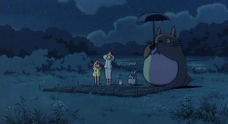 Totoro Cute Wallpaper Mon Ami Totoro 3 Petits Chats