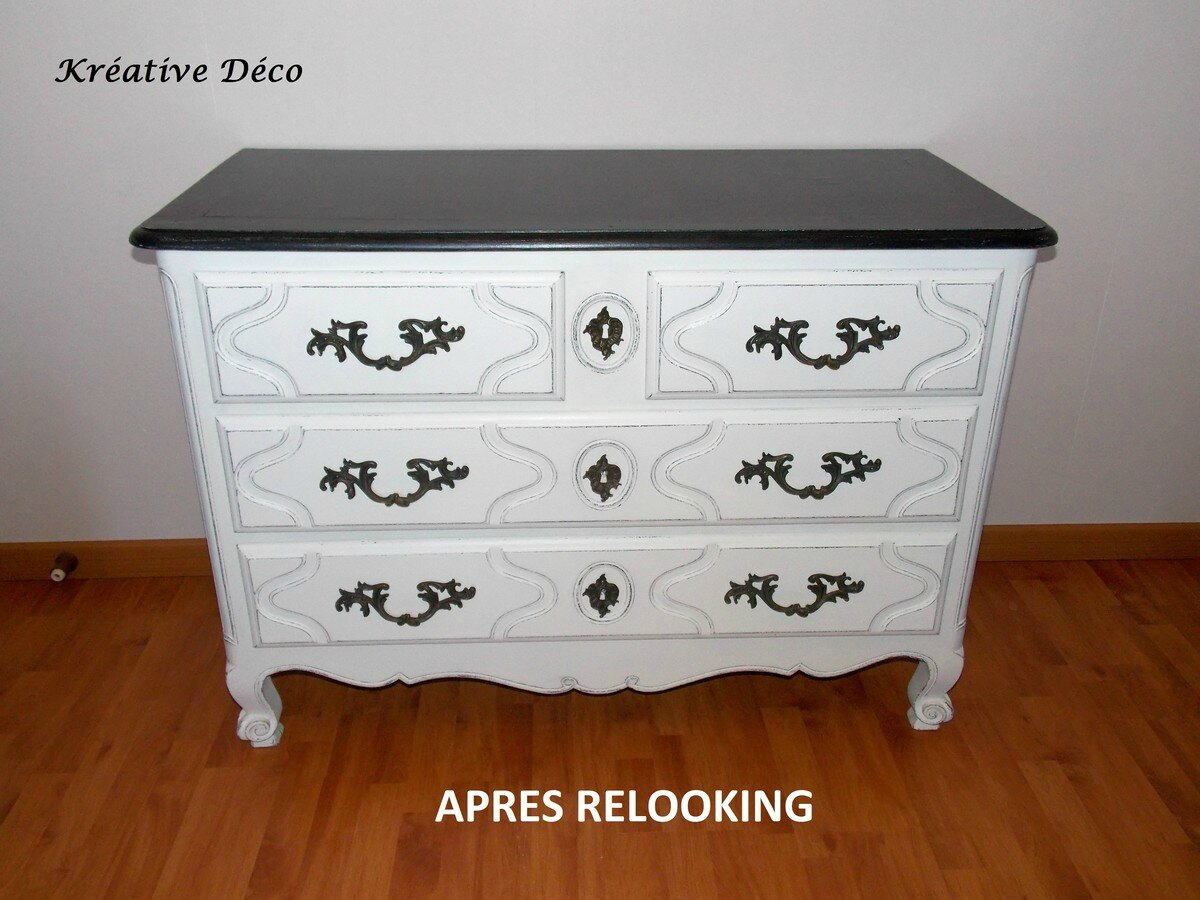 Commode Relooké Commode Relookee