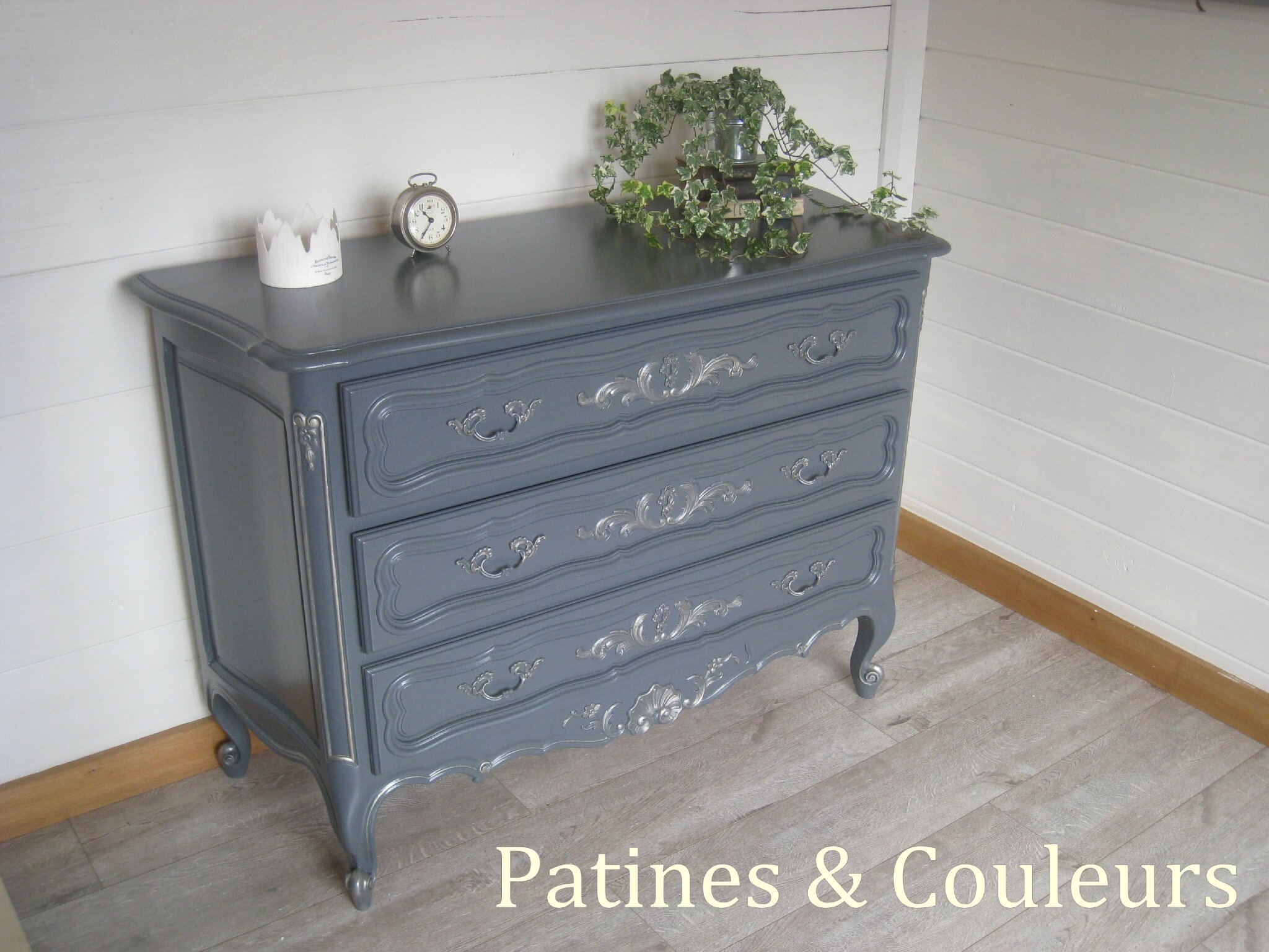 Vieille Commode Relookée Patines And Couleurs