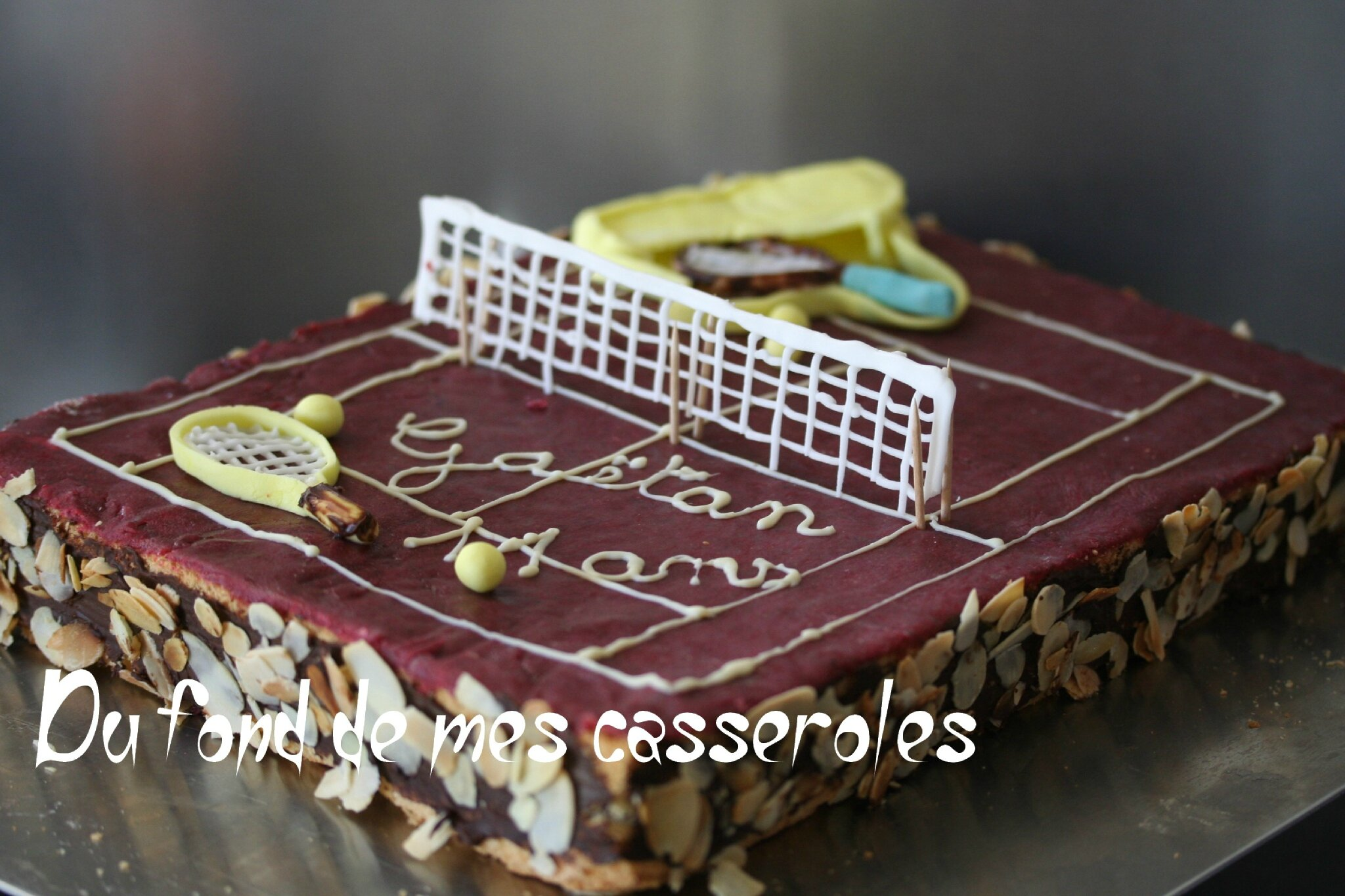 Cours Décoration Gateau Decoration Gateau Theme Tennis