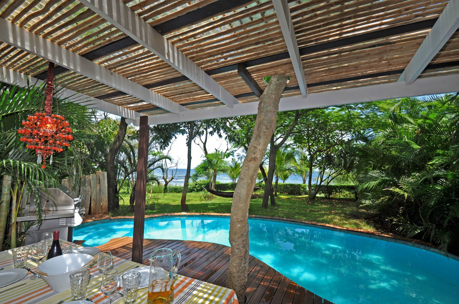 Jacuzzi Pool Villa Bandos Villa Oceanis Costarican Beachfront For Rent