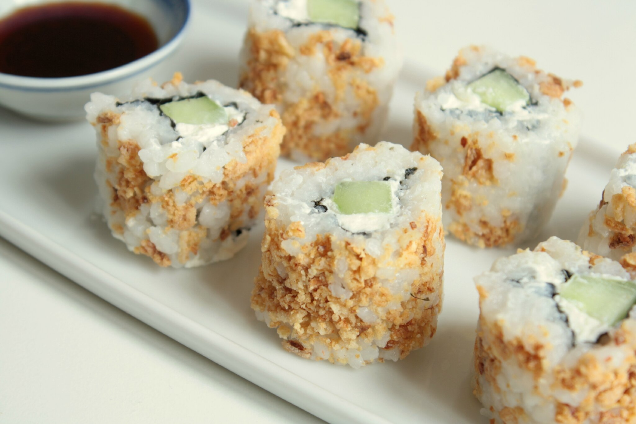 Apero Japonais Recette California Makis Croustillants Au Concombre And Fromage