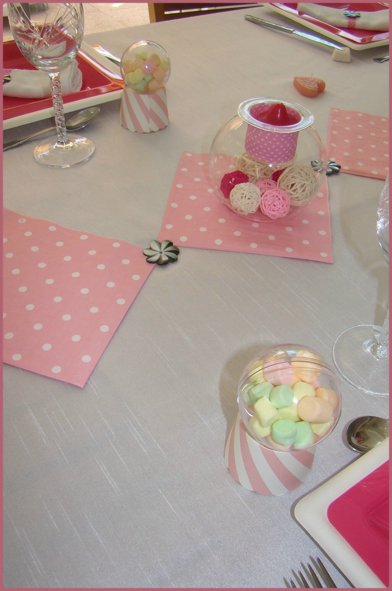 Decoration Anniversaire Girly Déco Table Anniversaire Girly Miss Gleni And Co