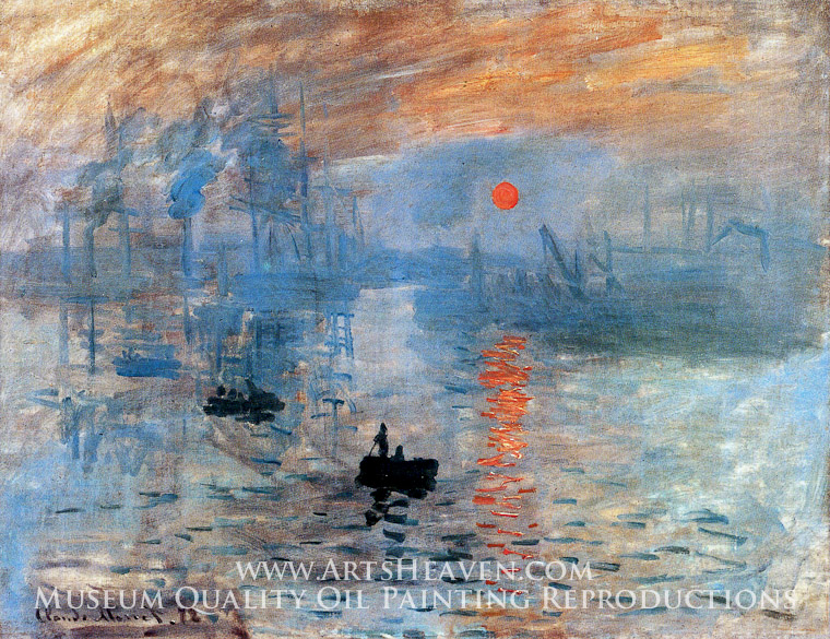 Claude Monet Impression Sunrise Painting, A Masterpiece of Our Time