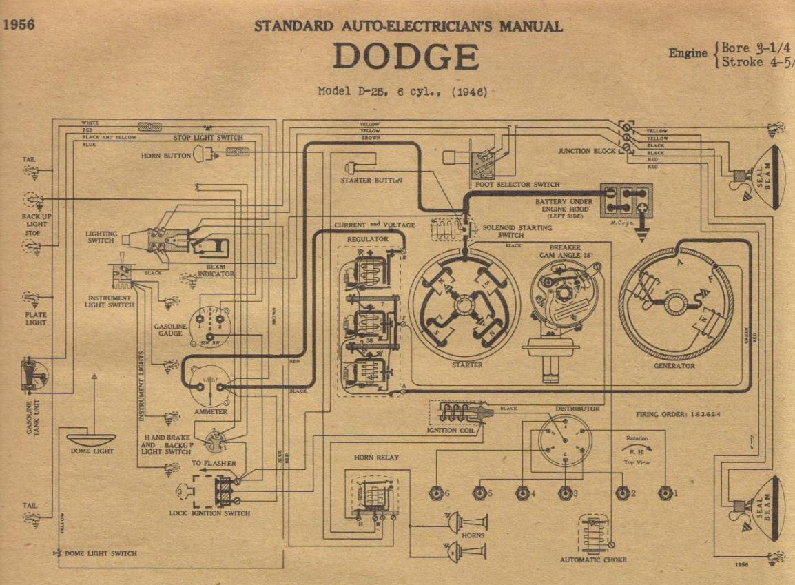 Desoto Wiring Diagram Ignition Circuit For The 1955 Studebaker All Models 1946 Library1946 1951 1938
