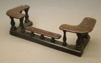 181: 19th c. English Fireplace Fender/Seat : Lot 181
