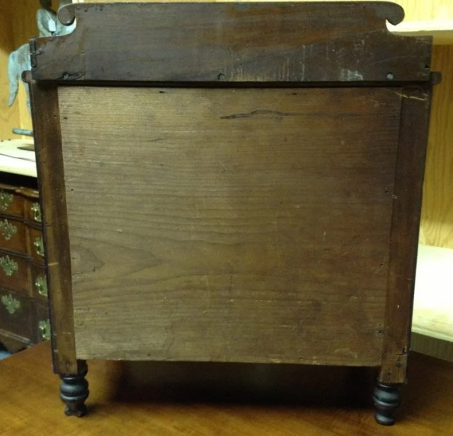 56: Miniature Carved Classical Chest of Drawers