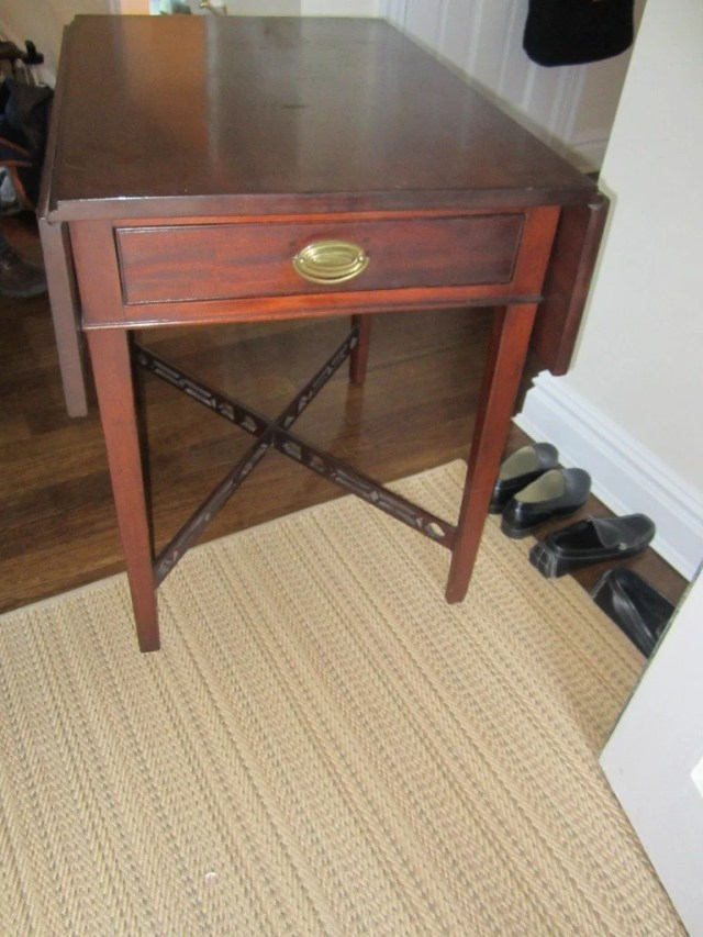 74: Chippendale Cherry-Wood Pembroke Table