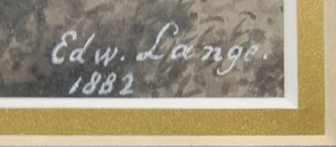 82: Edward Lange (American, 1846-1912)
