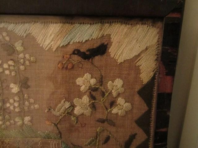 99:  Hannah Phippen Schoolgirl Needlework Sampler