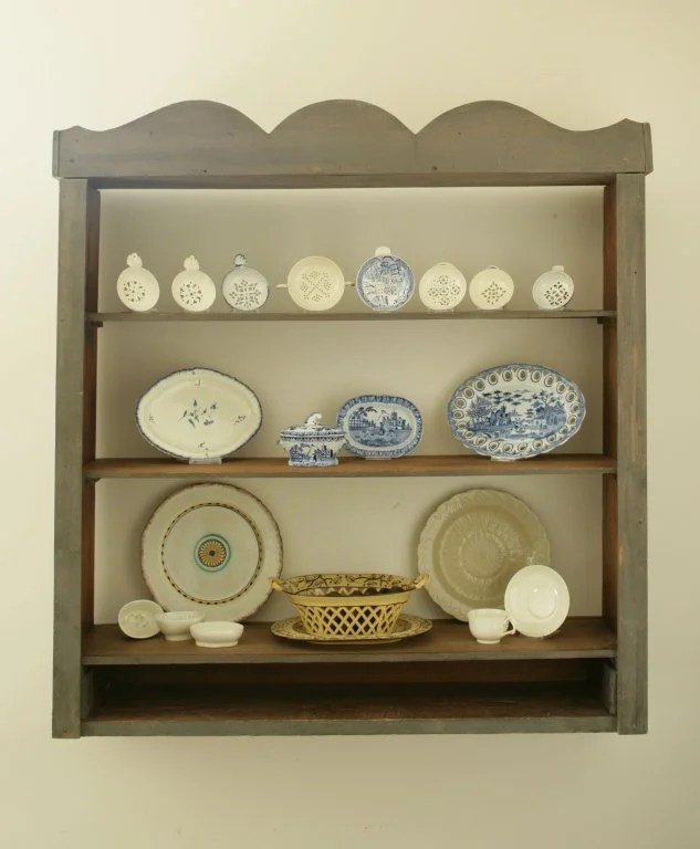 161: Five Examples of English Soft-Paste Table Ware