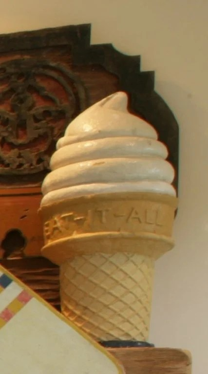 "188A: ""Eat it All""  Ice Cream Cone"