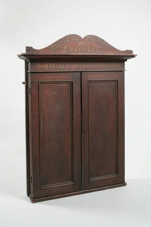 191: Ancient Order of Foresters Cabinet