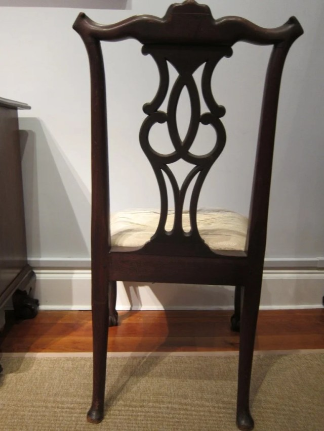 193: Pair of Mahogany George II Side Chairs