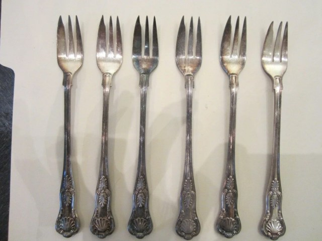 212: Assorted Group Of  Silver Flatware including